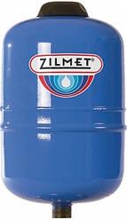 """Розширювальний бак Zilmet HYDRO-PRO для систем водопостачання 2 л 1/2""""G Ø128 H=187 мм"""