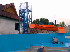 Строительство мини-аквапарка в загородном отеле 6