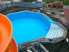 Строительство мини-аквапарка в загородном отеле 9