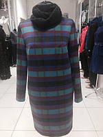 Платье в клетку с шарфиком, фото 1