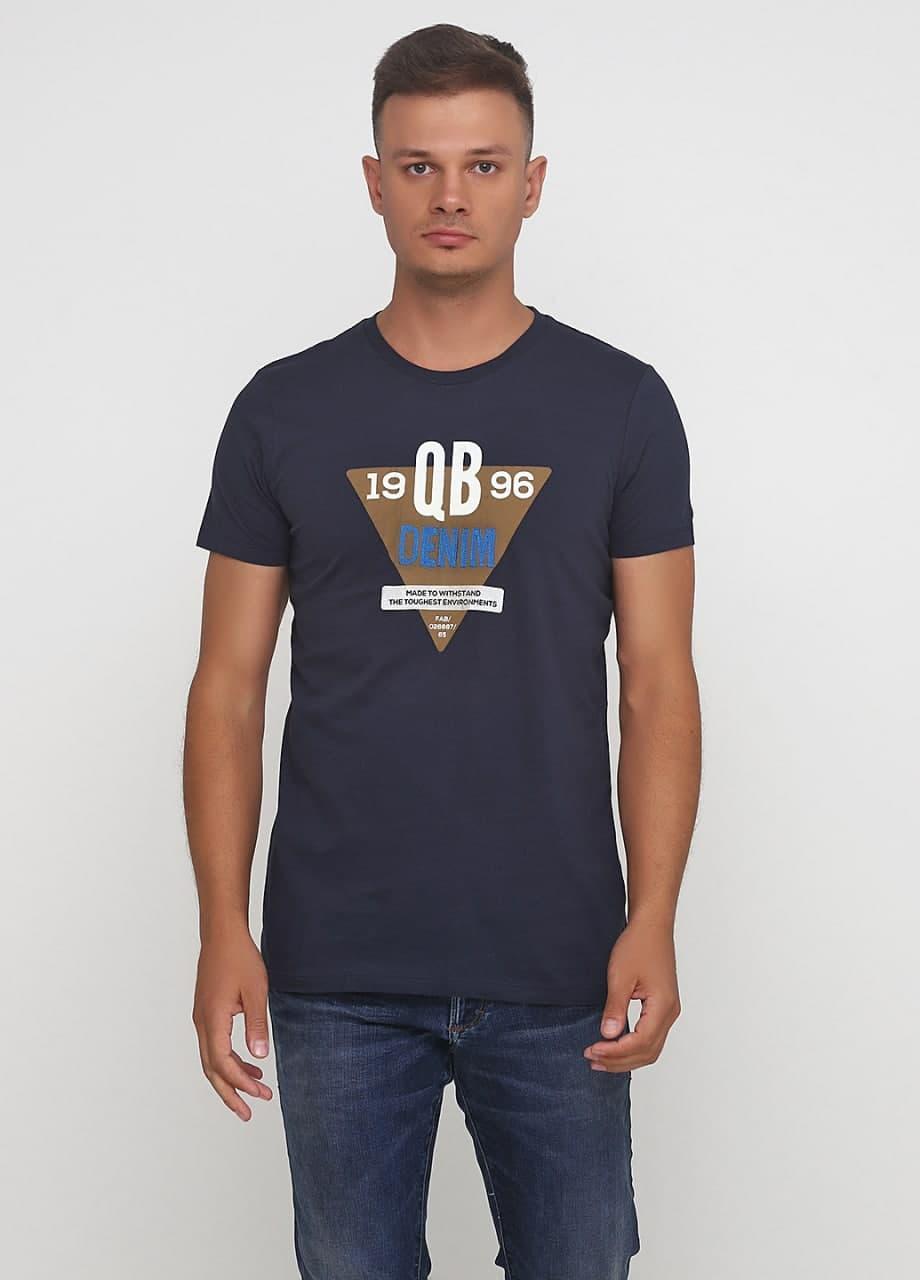 Футболка мужская JBC синяя (073315)