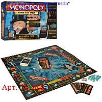 Настольная игра TG 002 Монополия, терминал-н, св, кредит, карты укр, фишки, бат, кор, 41, 5-27-5см