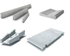 Железобетонные изделия для дорог и тротуаров