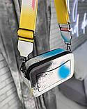 Женская сумка-клатч через плечо Marc Jacobs Snapshot Camera Bag Airbrushed yellow, фото 3