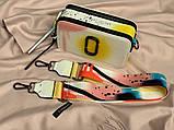 Женская сумка-клатч через плечо Marc Jacobs Snapshot Camera Bag Airbrushed yellow, фото 5
