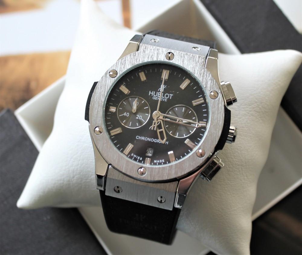 Наручные часы Hublot Big Bang black&silver