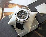 Наручные часы Hublot Big Bang black&silver, фото 2