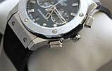 Наручные часы Hublot Big Bang black&silver, фото 6
