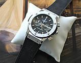 Наручные часы Hublot Big Bang black&silver, фото 7