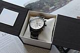 Мужские наручные часы Hugo Boss black&white, фото 5