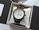 Мужские наручные часы Hugo Boss black&white, фото 6