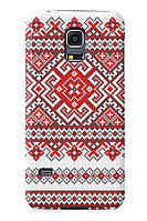 Чехол для Samsung Galaxy S5 mini (Вышиванка)