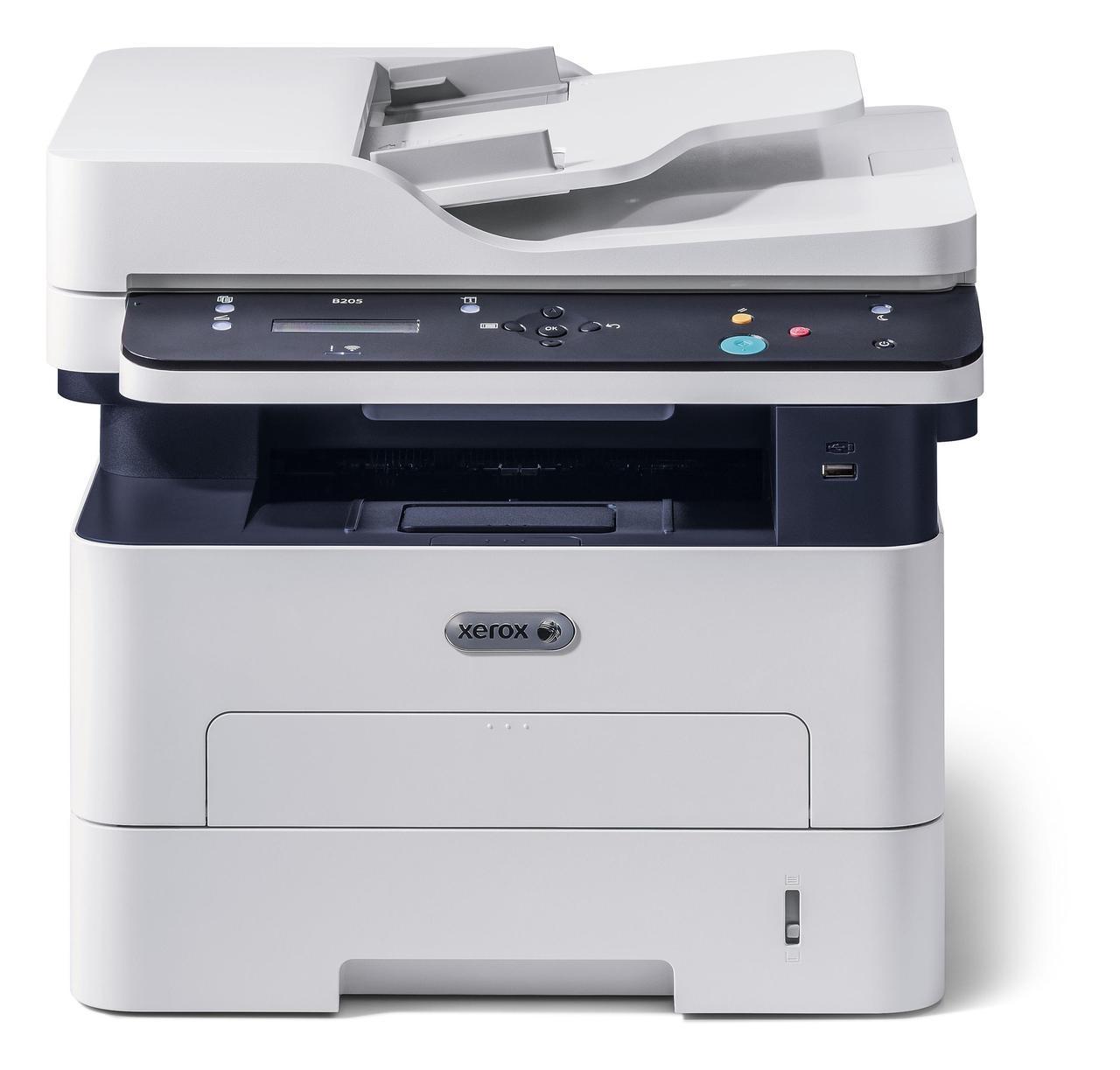 Багатофункціональний пристрій (БФП) А4 ч/б Xerox B205 (Wi-Fi) B205V_NI