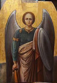 Икона Архистратига Михаила 19 век