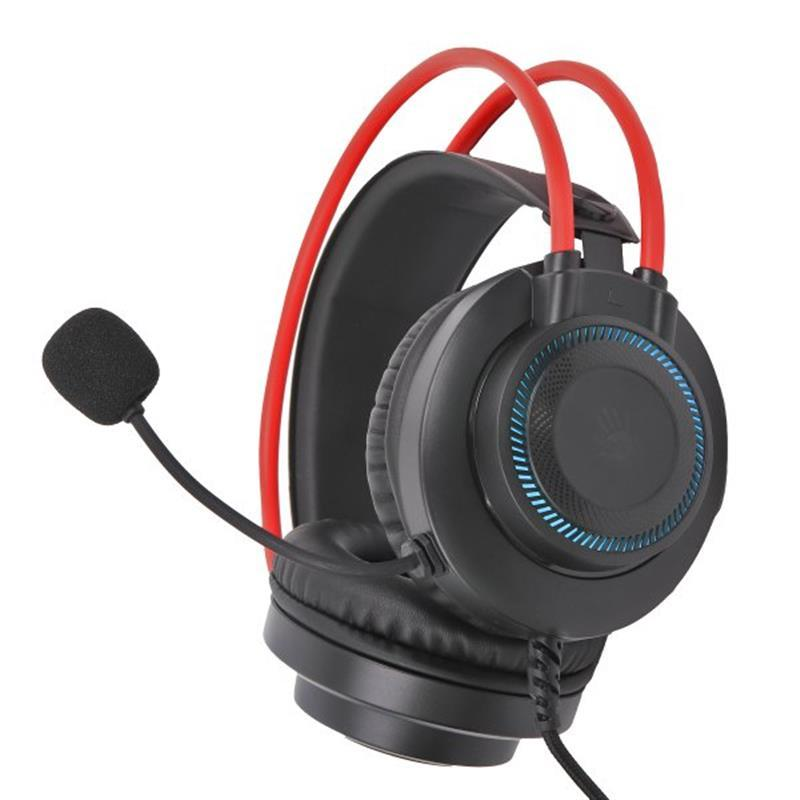 Гарнітура  A4Tech Bloody G200 Black/Red