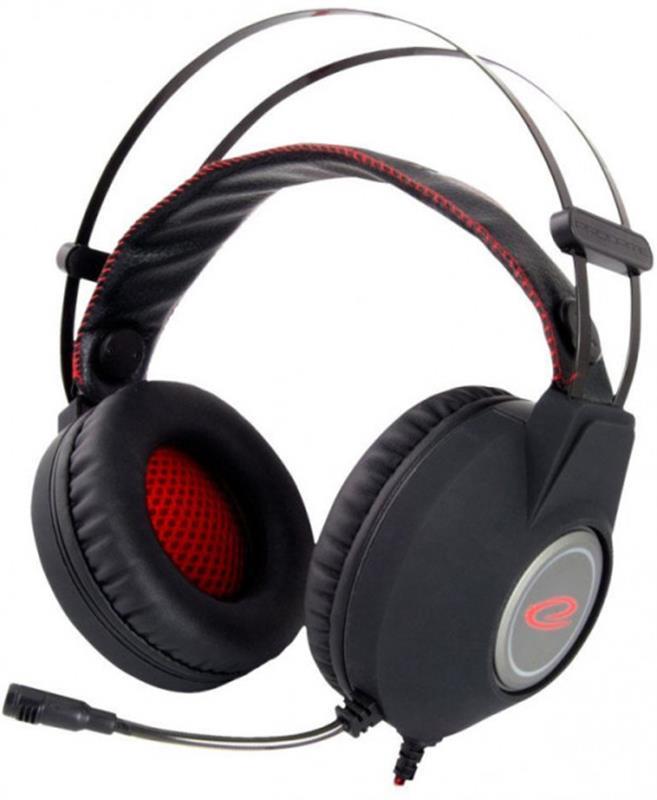 Гарнітура Esperanza EGH440 Black/Red