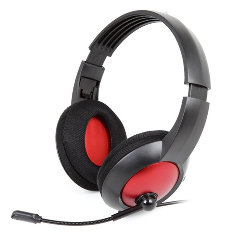 Гарнітура Gemix HP-808MV Black/Red