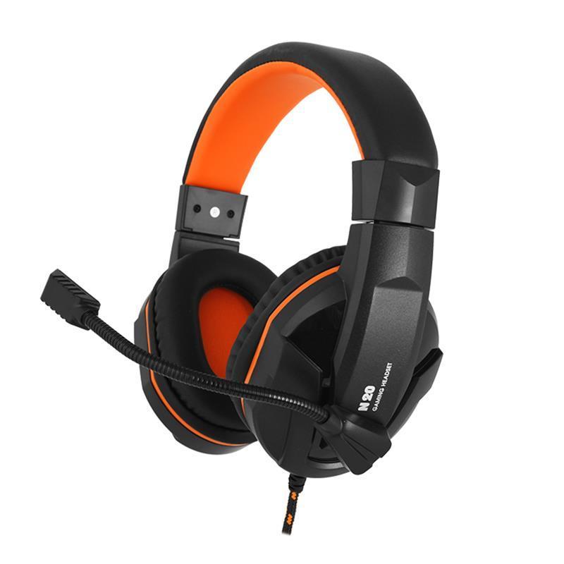 Гарнітура  Gemix N20 Black/Orange (04300106)