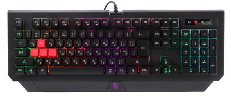 Клавіатура A4Tech Bloody B120N Black USB