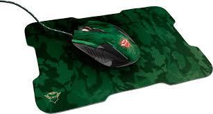Комплект (мишка + килимок) TRUST GXT781 Rixa Camo (23611) Camouflage USB