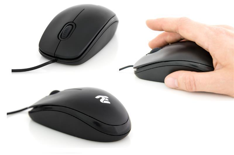 Міша 2E MF104 Black (2E-MF104UB) USB