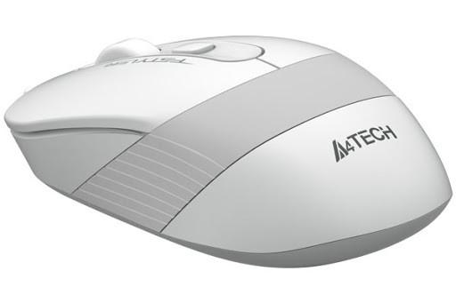 Мишка A4-Tech Fstyler FG10S White