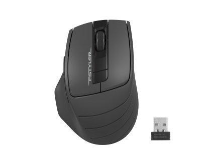 Мишка A4-Tech Fstyler FG30S Black/Grey