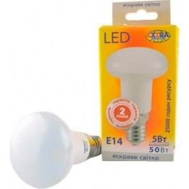Лампа світлодіодна LED Е14 5W 4000K 390lm EXTRA LED (L-R39-05144)