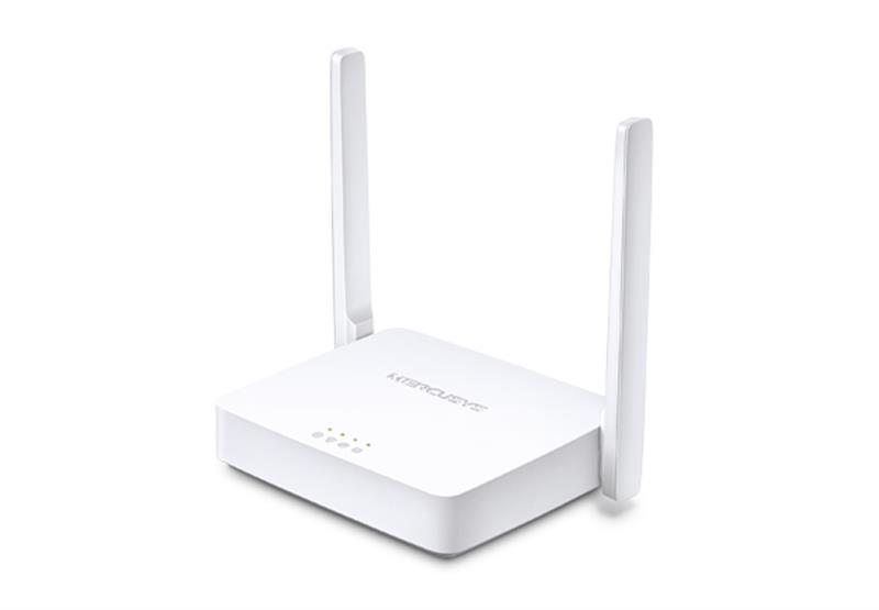 Маршрутизатор Wi-Fi Mercusys MW301R (N300, 1хFE Wan, 2хFE LAN, 2 антени)