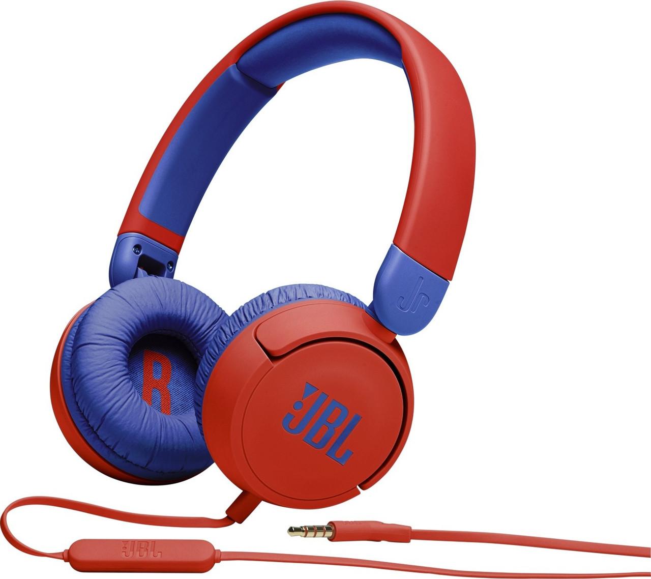 Навушники JBL JR310 Red (JBLJR310RED)