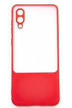 Панель Fine Line Matte Bng для Samsung Galaxy A02 (A022) (red)