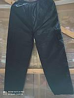 Мужские спортивные штаны плащевка на флисе  5ХЛ, 2ХЛ, 3ХЛ