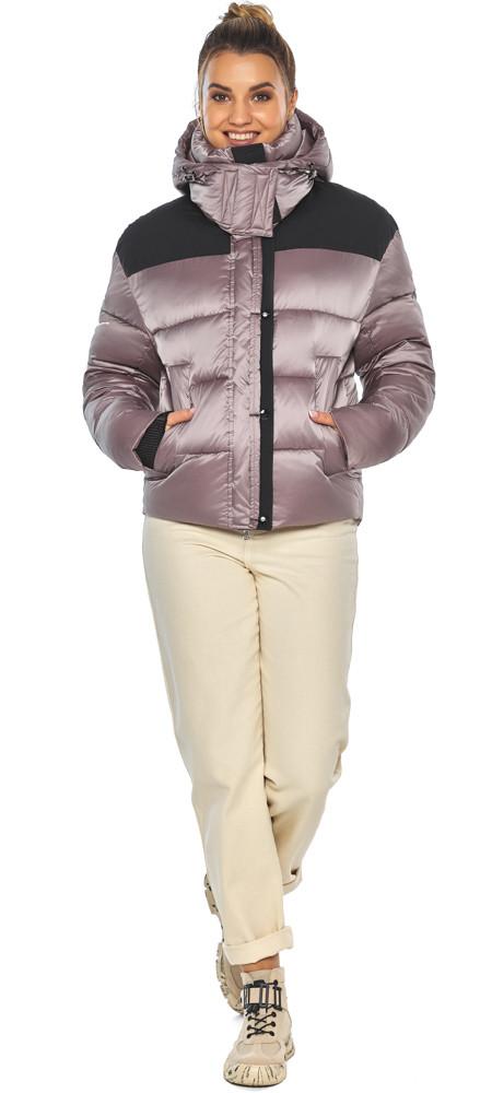 Куртка пудровая элегантная женская модель 57520