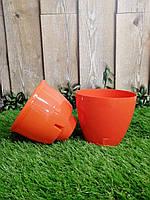 Вазон Deco Twin 2,5л морковный