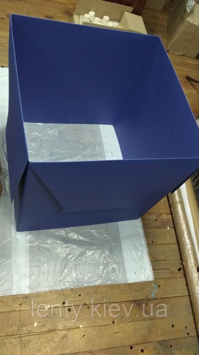 вирівнюємо квадрат коробки (коробка-сюрприз - складання)