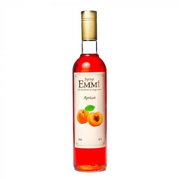 Сироп Эмми (Емми) Абрикос 700 мл (900 грамм) (Syrup Emmi Apricot 0.7)