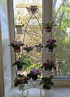 """Подставка для цветов """"Лист на 12 малых чаш"""""""