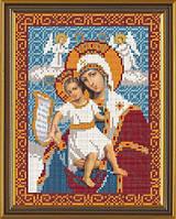Заготовка для вышивки бисером Богородица «Достойно Есть»