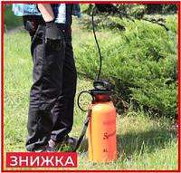 Ручной опрыскиватель для сада и огорода 8л садовой распылитель пульверизатор