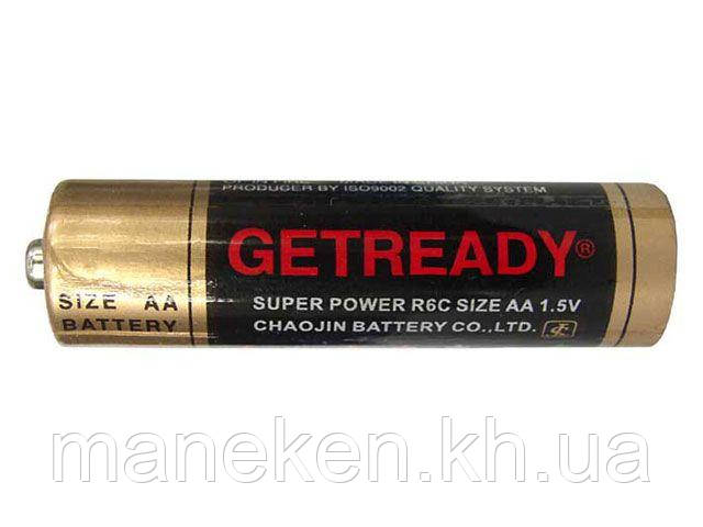 Элемент питания Батарейка ГетРеди (АА R6) солевые (Б-4) (4 шт)