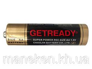 Элемент питания Батарейка ГетРеди (АА R6) солевые (Б-4) (4 шт), фото 2