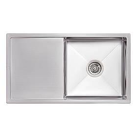 Кухонна мийка Lidz H7844 Brush 3.0/1.0 мм (LIDZH7844LBRU3010)