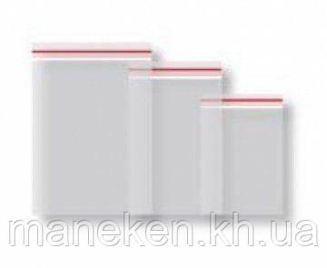 Пакети струна з замком Zip-Lock (з отвором) 4см x 6см(100шт) (1 пач.), фото 2