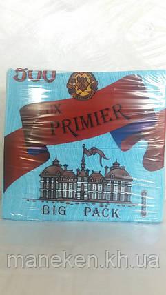 Бумажная салфетка  500лист Премьер Бирюза (1 пач), фото 2