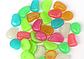 Декоративные камни светящиеся для сада или аквариума, 100 шт уп., мультиколор, фото 5