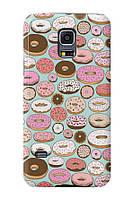 Чехол для Samsung Galaxy S5 mini (Пончики)