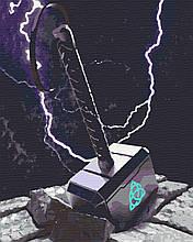 Картина по номерам кинофильмы 40х50 Молот Тора