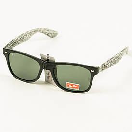 Солнцезащитные очки Ray-Ban Wayfarer унисекс со стеклянной линзой - W1/2