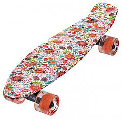 Скейт Пенни борд Penny Board Ultra Led 22 - Пенні борд 54 см