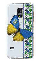 Чехол для Samsung Galaxy S5 mini (Бабочка)